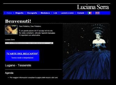 Luciana Serra, Soprano