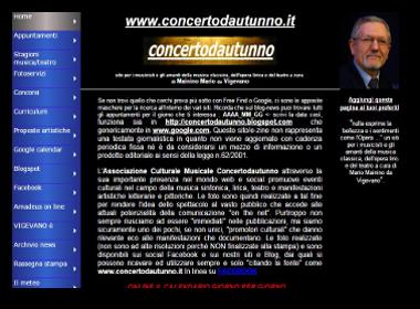 Concertodautunno